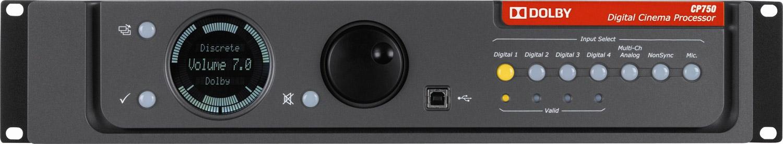 Processador de cinema 7 1 Dolby CP750 -